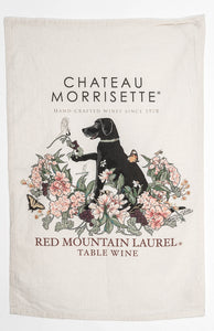Chateau Morrisette - RedMountain Laurel Flour Sack Towel