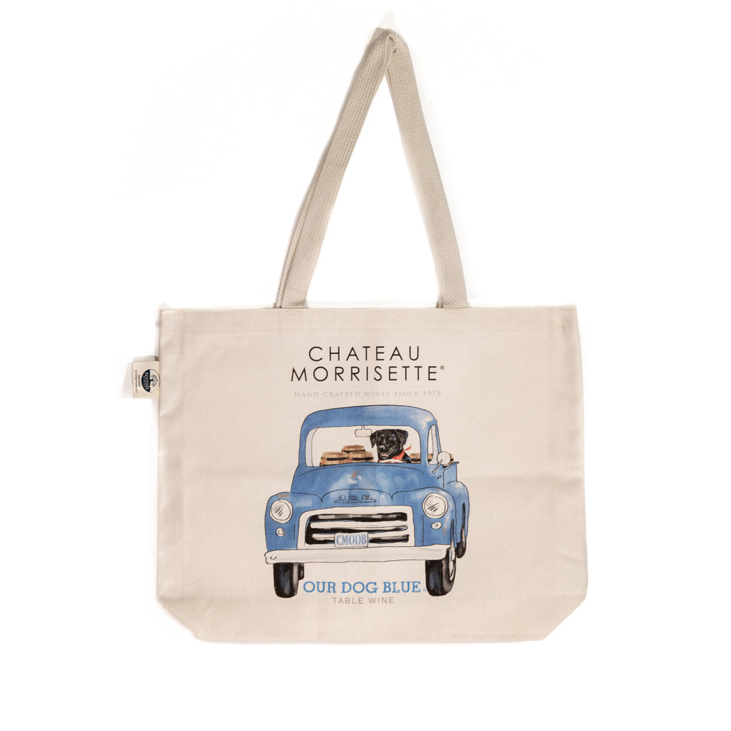 Chateau Morrisette - Our Blue Dog Shoulder Bag