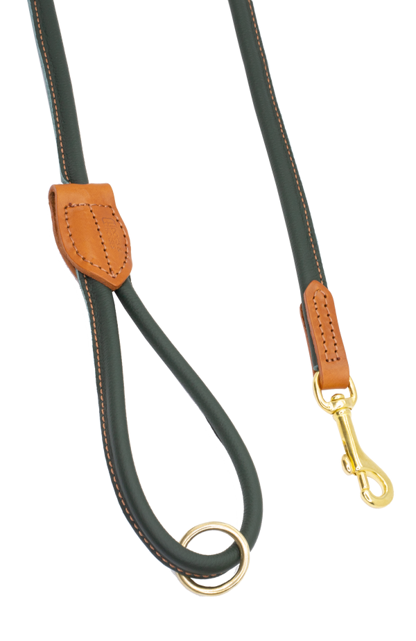 D&H Burghley Rolled Leather Lead