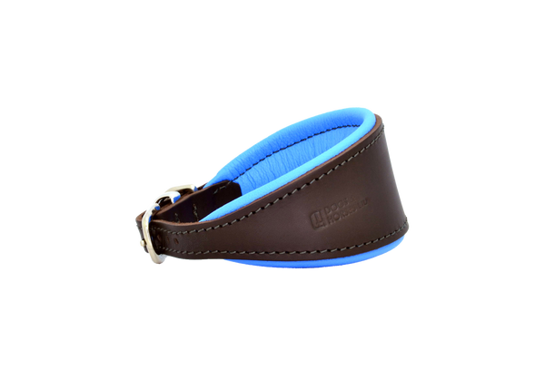 D&H Brown/Blue Hound Collar