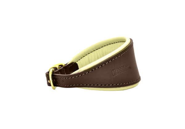 D&H Brown/Cream Hound Collar