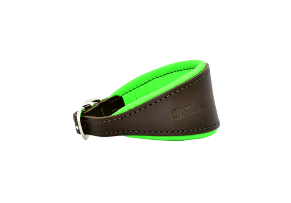 Copy of D&H Brown/Green Hound Collar