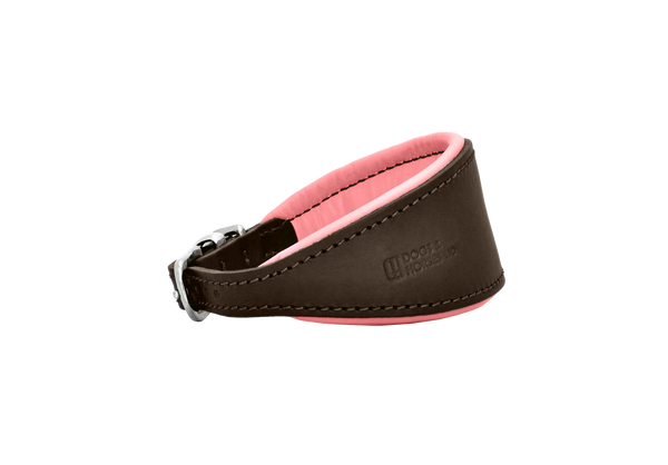 D&H Brown/Pink Hound Collar