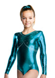 Ervy Amalina Long Sleeved Leotard (Petrol)