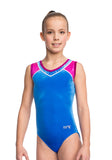Ervy Addison Leotard (Royal Blue, Blackberry and Party Pink)