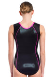 Ervy Kallista Leotard (Black and Pink)