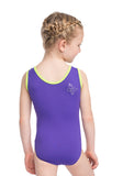 Ervy Butterfly Leotard (Orchid and Kiwi)