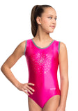 Ervy Sunshine Leotard (Fuchsia and Silver)