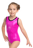 Ervy Sunshine Leotard (Party Pink and Black)