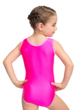 Ervy Penelope Leotard (Neon Pink and Pink)