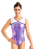 Ervy Sakura Leotard (Lilac, White and Violet)
