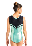 Ervy Sakura Leotard (Mint and Black)