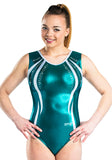 Ervy Tiara Leotard (Petrol and Silver)
