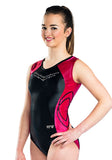 Ervy Bess Leotard (Black and Grenade)