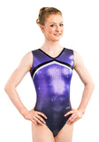Ervy Ayanna Leotard (Lilac, Graphite, Black and Silver)