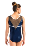 Ervy Nigue Leotard (Ink, White and Black)