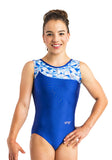 Ervy Skara Leotard (Atlantic, Royal Blue and Kaleidoscope)