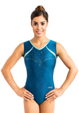 Ervy Fera Leotard (Aquamarine and Mint)