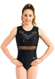 Ervy Quirina Leotard (Black)