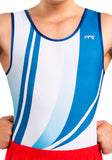 Ervy Adam Leotard (White and Blue).