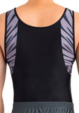 Ervy Rico Leotard (Black and Graphite)