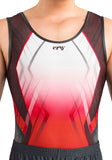 Ervy Paul Leotard (Red, Graphite and White)