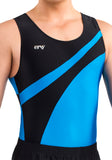 Ervy Damian Leotard (Black and Azure)