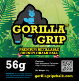Gorilla Grip Premium Refillable Chunky Gymnast Chalk Ball