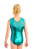 Ervy Mira Leotard (Petrol, Emerald and Skin)