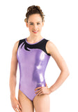 Ervy Mira Leotard (Lilac and Black)