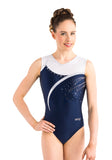 Ervy Yona Leotard (Ink, White and Silver)