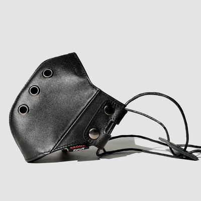 Leather Mask Black