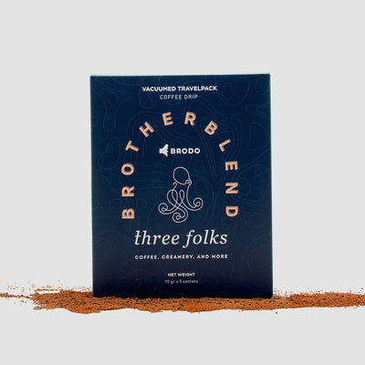 Brodo X Threefolks Coffee