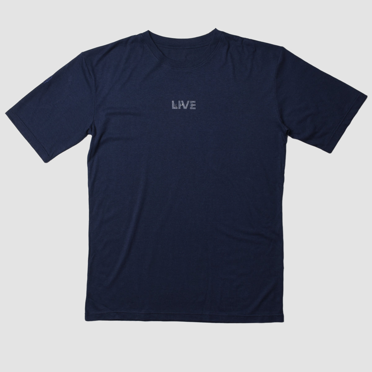 Live Epic Cotton Bamboo T-Shirt Navy