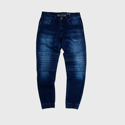 Jogger Denim Washed Indigo BRODO x ADITYALOGI Slim Fit