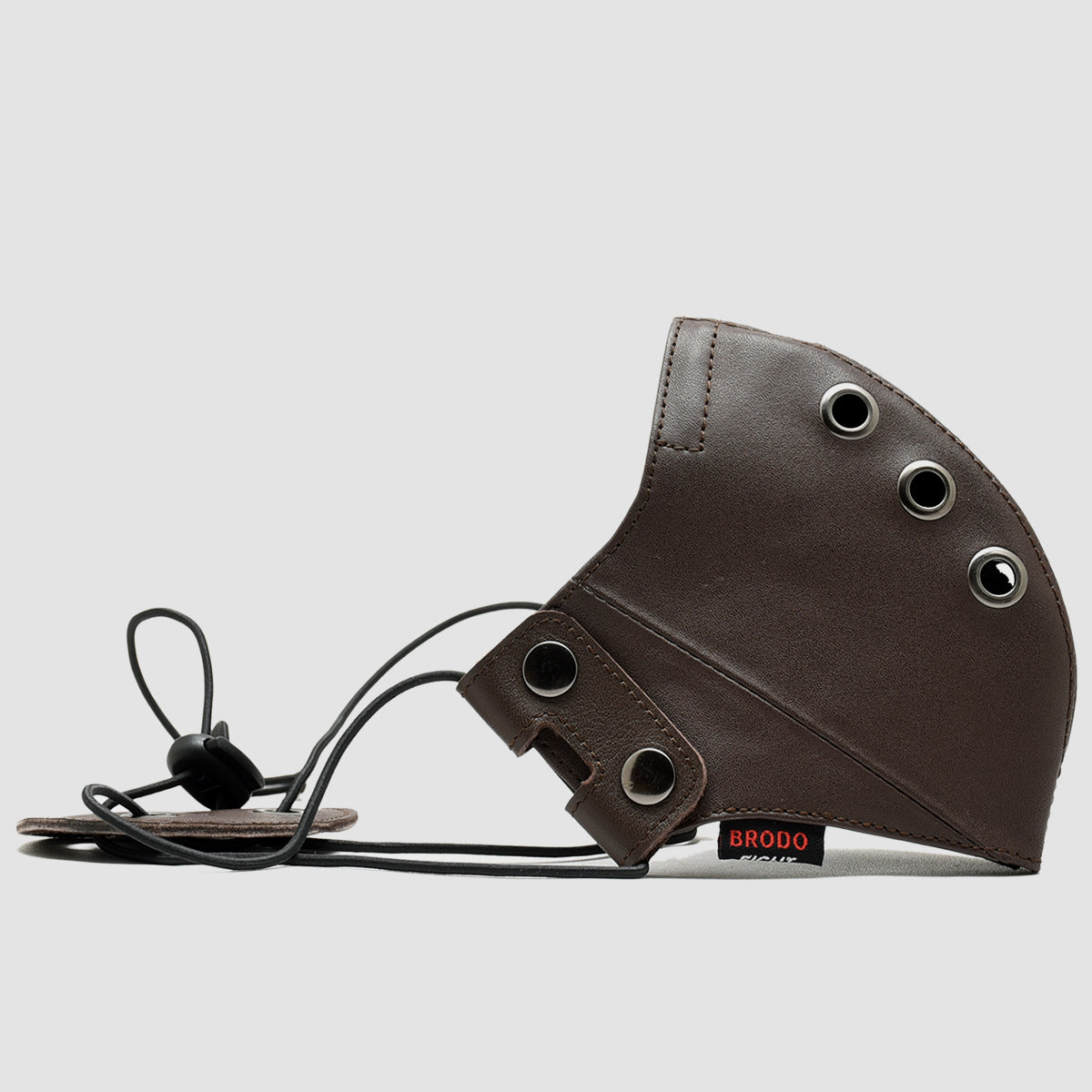 Leather Mask Brown
