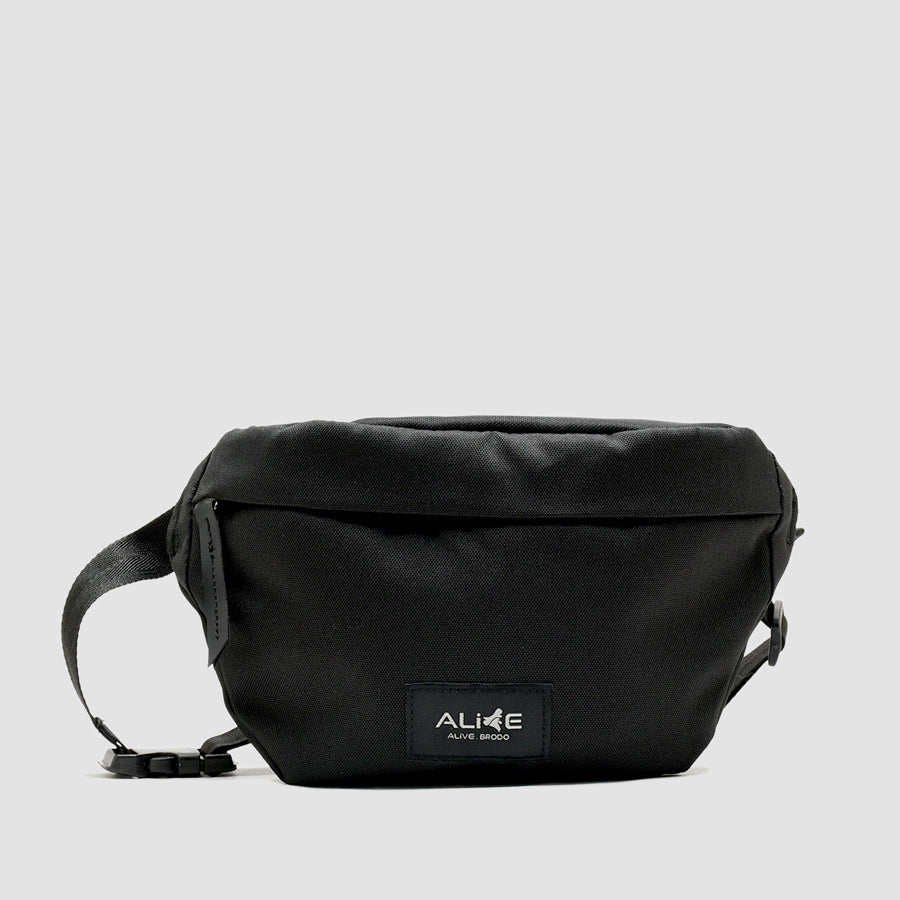 Brodo X Alive Rogue Black Bag