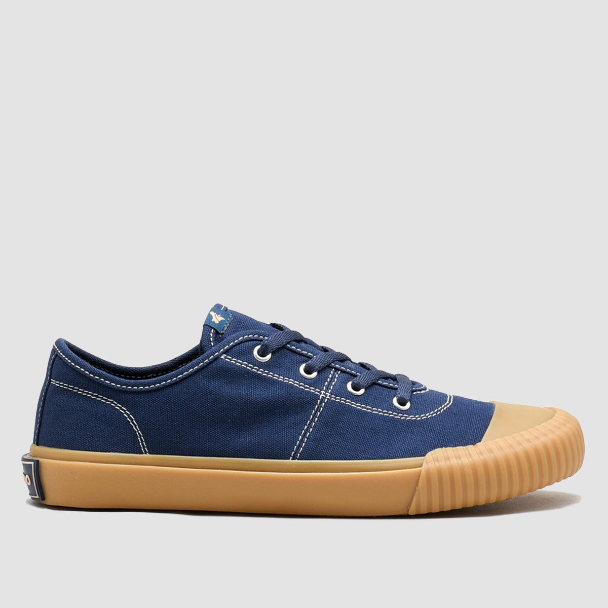 Vulcan Low Navy Gumsole
