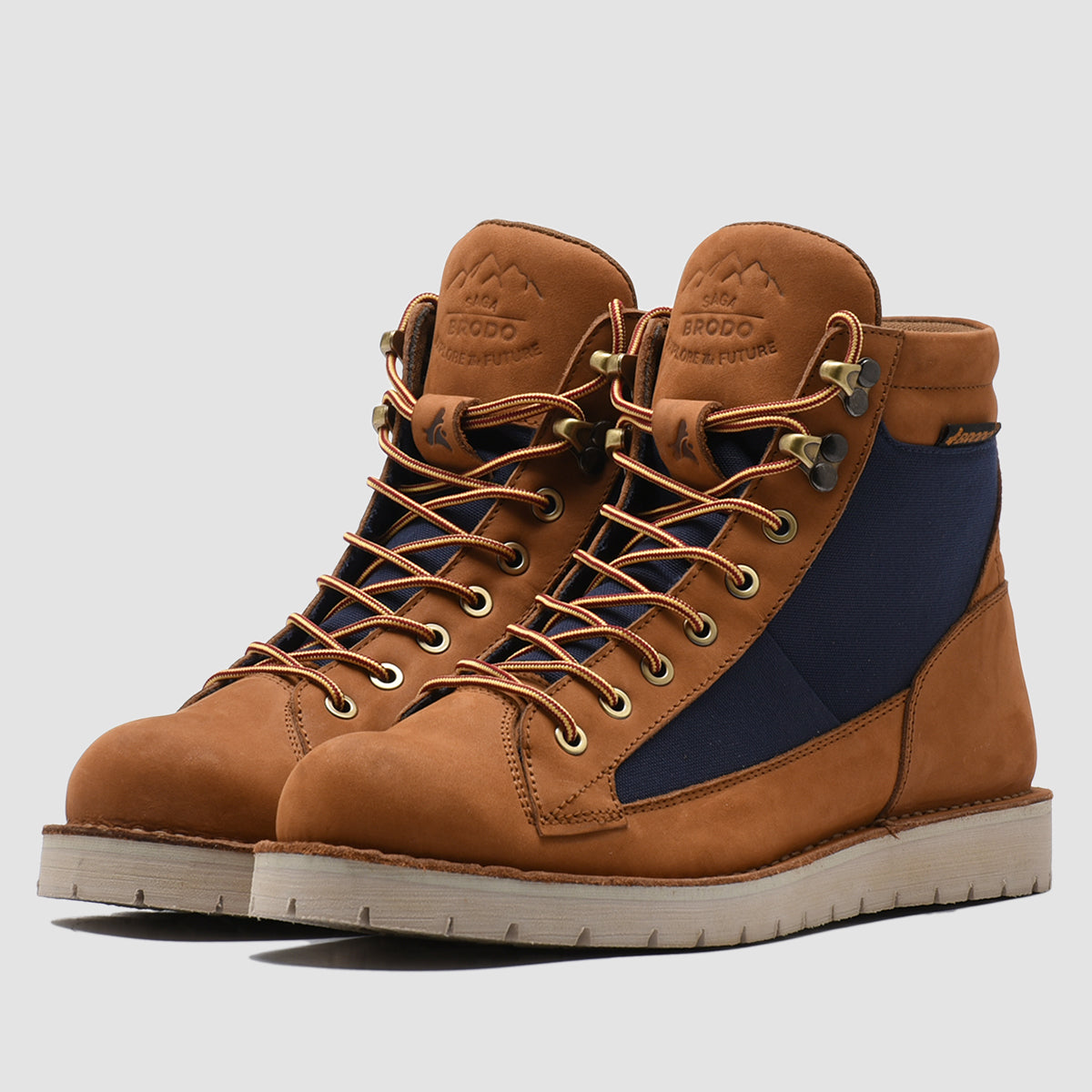 Saga Combat Vintage Brown - Dark Navy IS