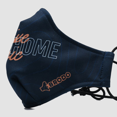 Ergo Mask Print - Epic Navy Pattern