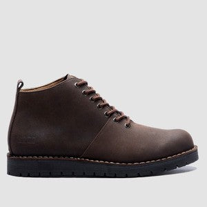 Signore Boots Dark Choco Black Sole