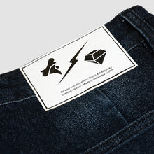 Load image into Gallery viewer, Jogger Denim Washed Black BRODO x ADITYALOGI Slim Fit