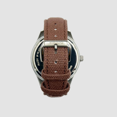Brodo Tempo Alu Canvas Brown