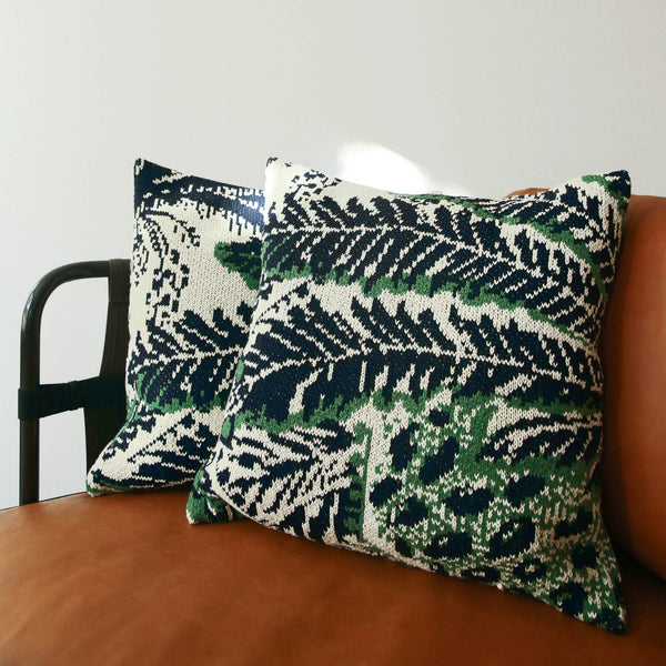 Housse de coussin PALMA coloris Jungle Post Diem