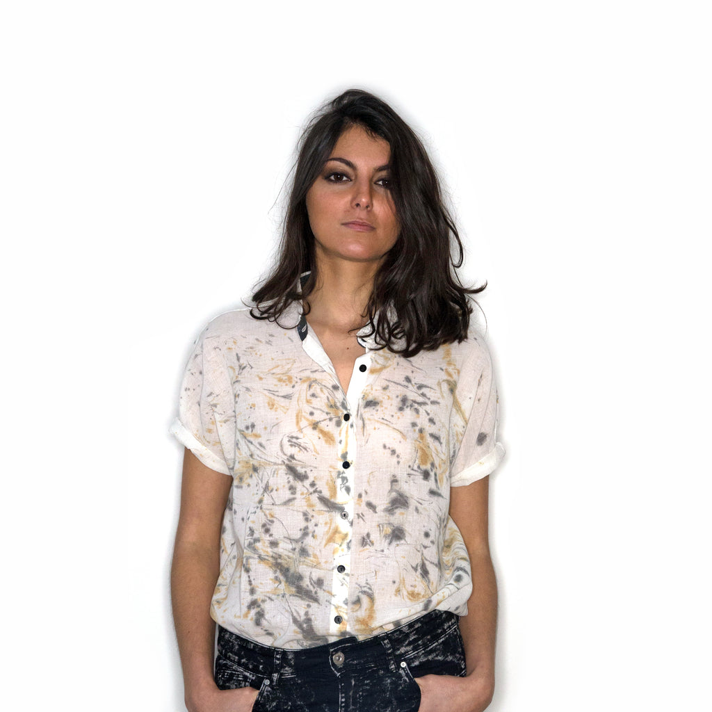 Chemise en coton bio ERULA_Collection Sirocco Post Diem
