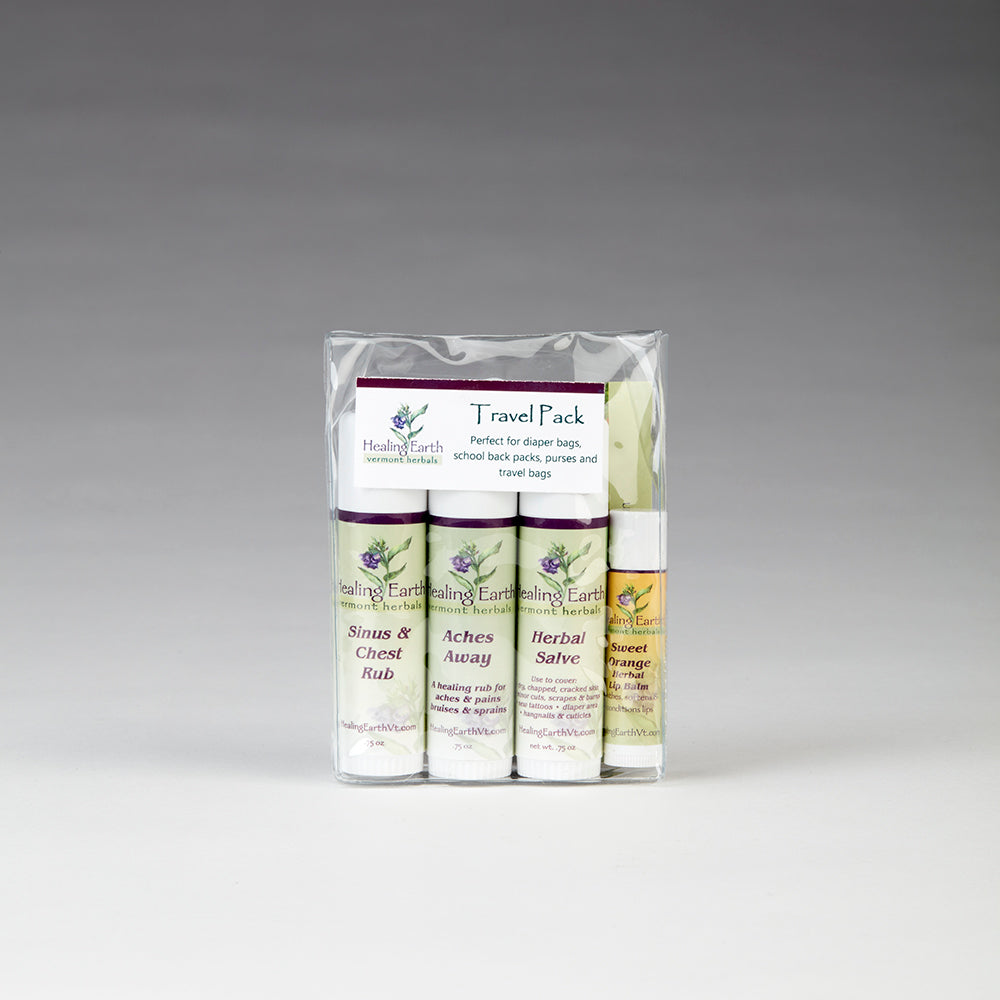 Healing Earth Essentials Travel Pack