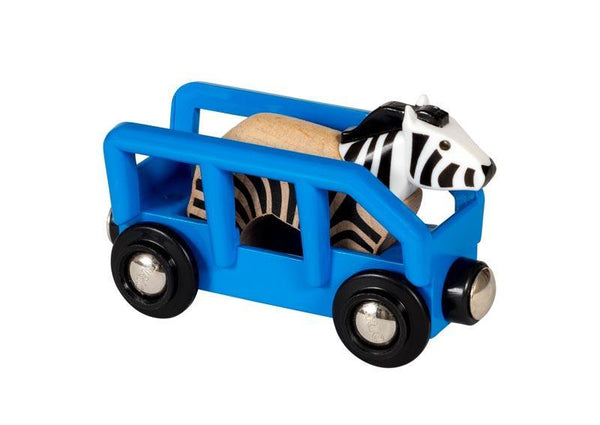 Brio Zebra and Wagon