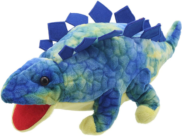 The Puppet Co. Baby Stagosaurus Blue