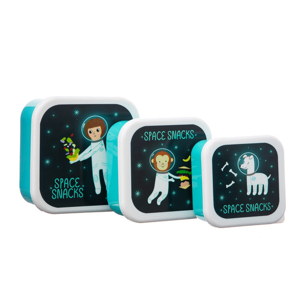 Sass & Belle Space Snacks Lunch Boxes 3 Pcs