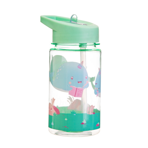 Sass & Belle Drink Up Alma Narwhal Water Bottle